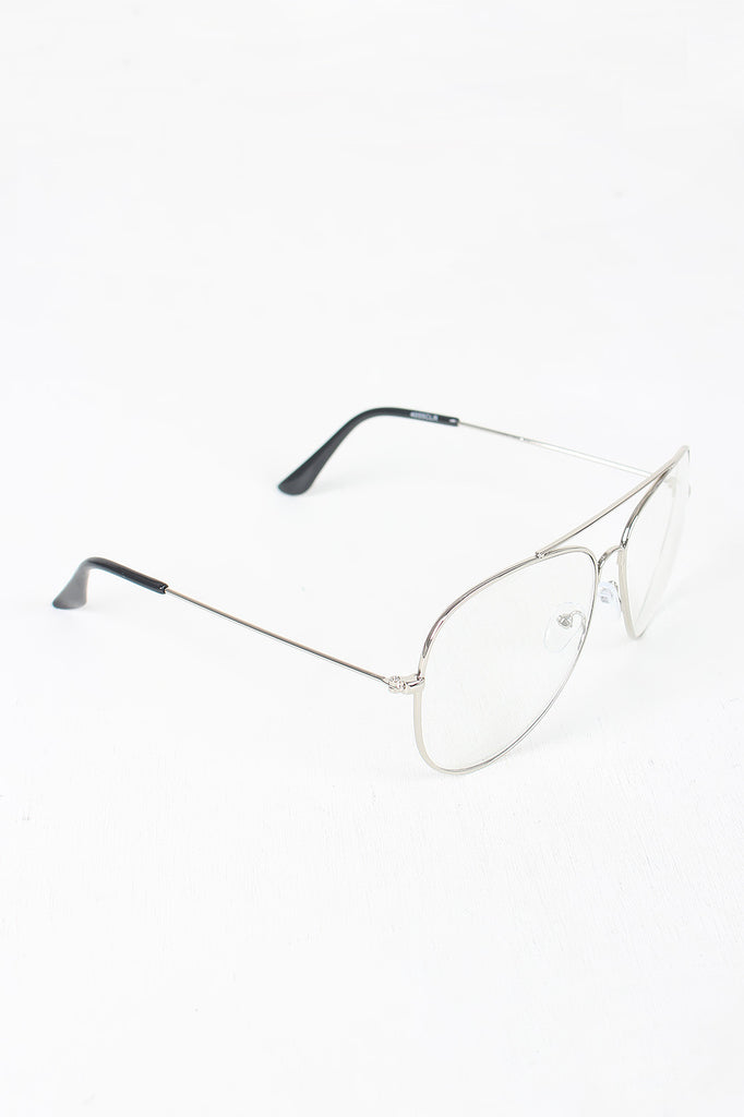 f6b6f5b257 Wire Aviator Clear Lens Glasses – Kurve Boutique