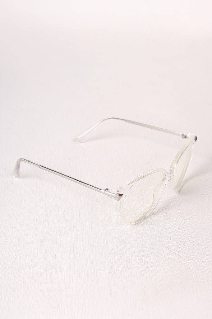 21a29c92a0 Classic Clear Lens Round Glasses – Kurve Boutique