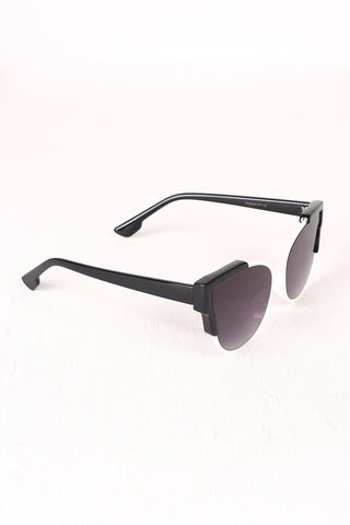 Tinted Retro Clubmaster Sunglasses