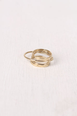 Overlapping Cage Ring
