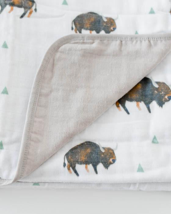 Bison Quilt - DOT.KIDZ - Little Unicorn
