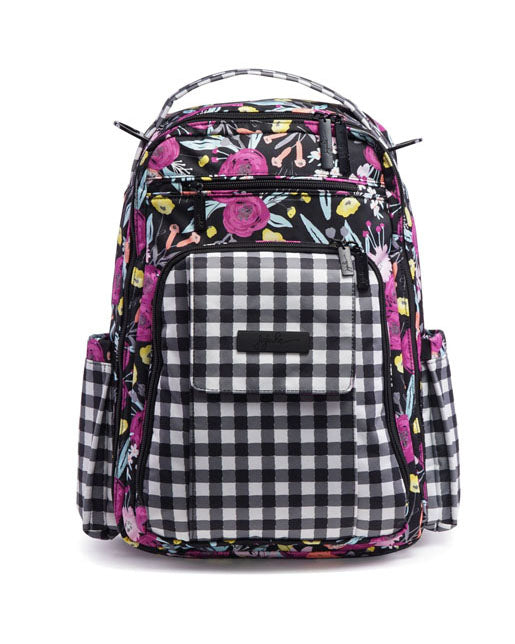 Gingham Black & Bloom - DOT.KIDZ