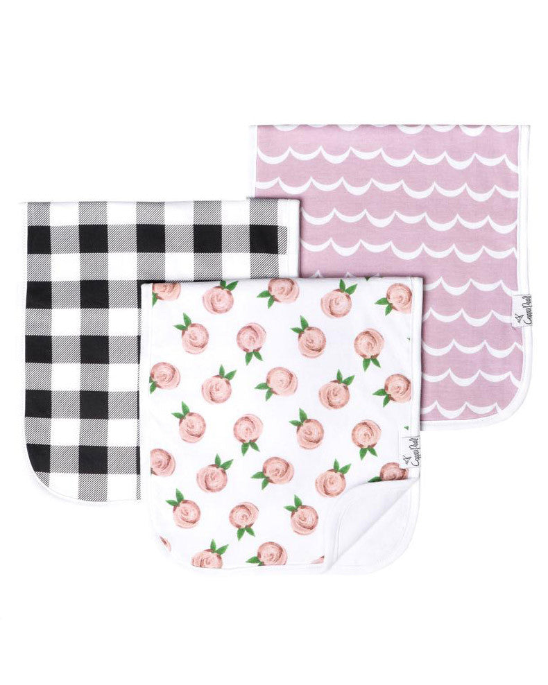 Rosie Burp Cloth Set - DOT.KIDZ