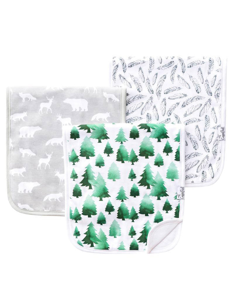 Woodland Burp Cloth Set - DOT.KIDZ