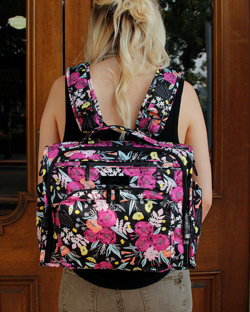 Black and Bloom Convertible Jujube