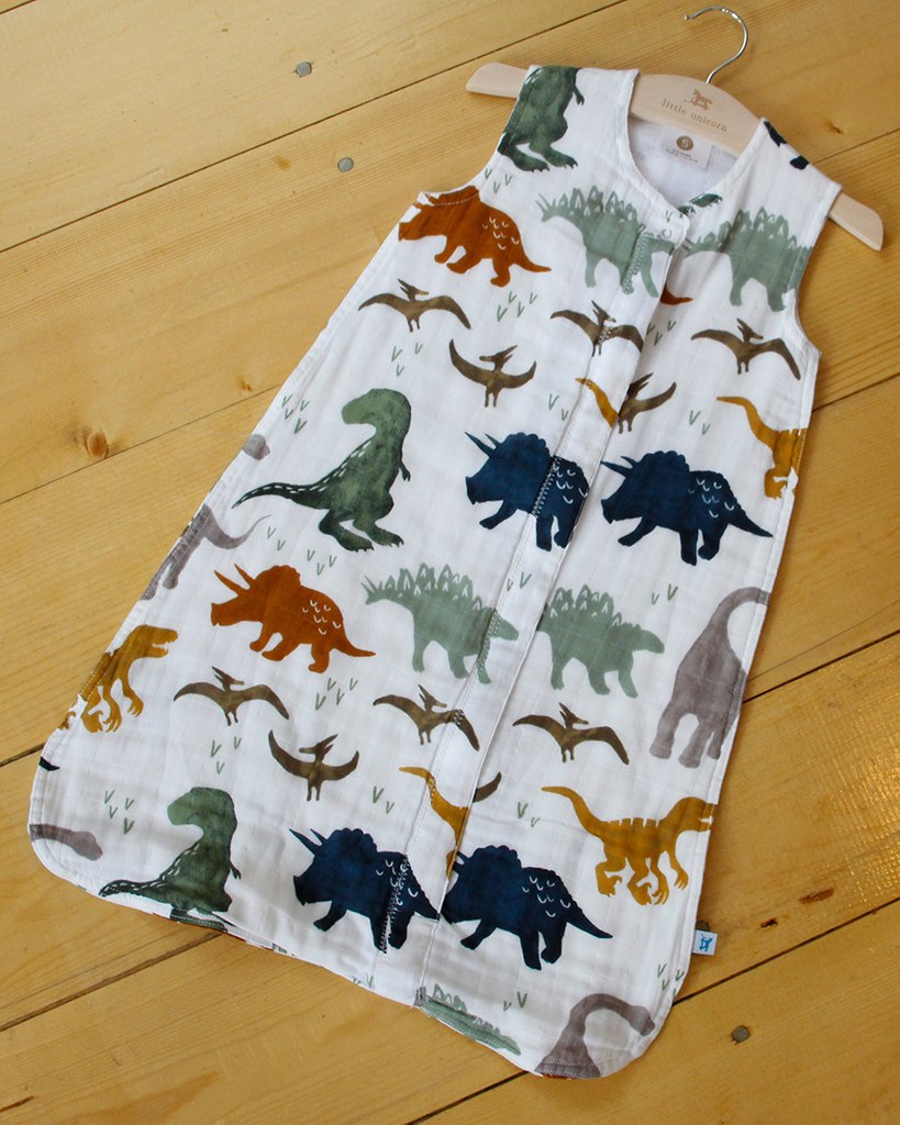 Dino Sleep Sack - Sleep Bag - Dot Kidz - Little Unicorn