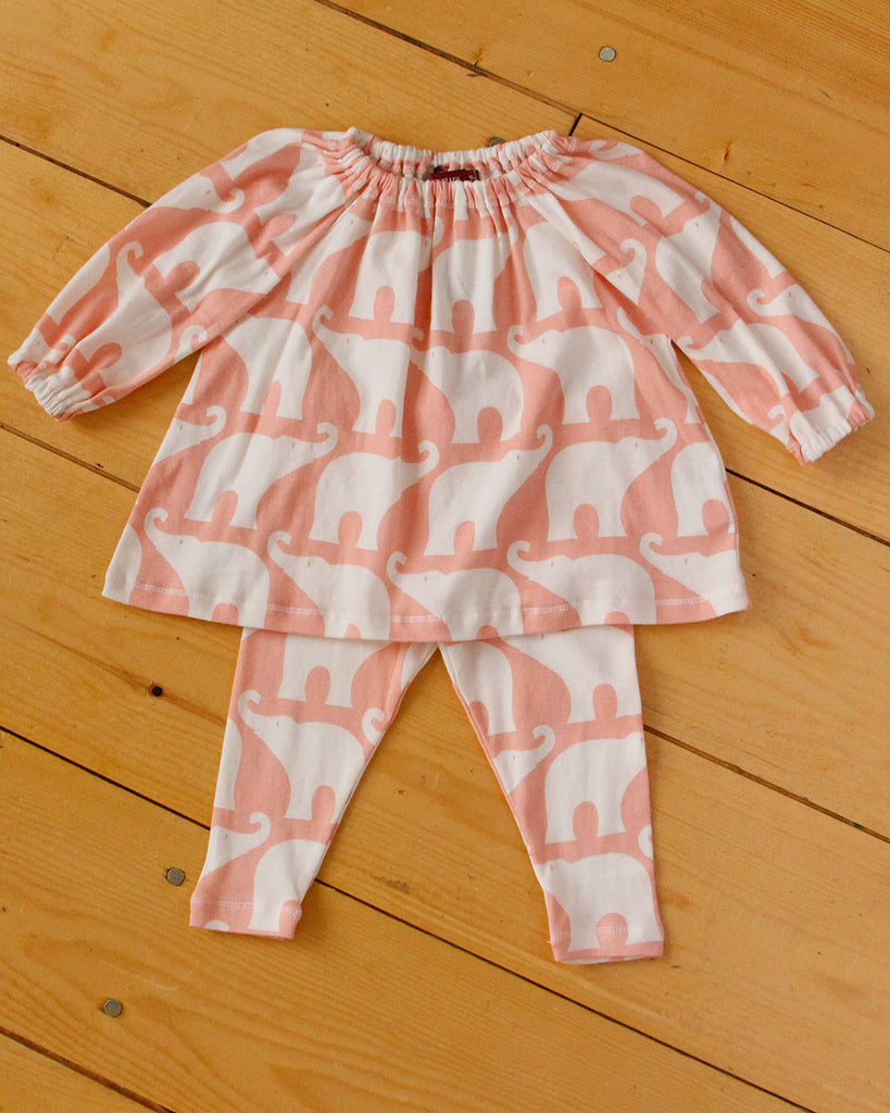 Rose Elephant Set - DOT.KIDZ