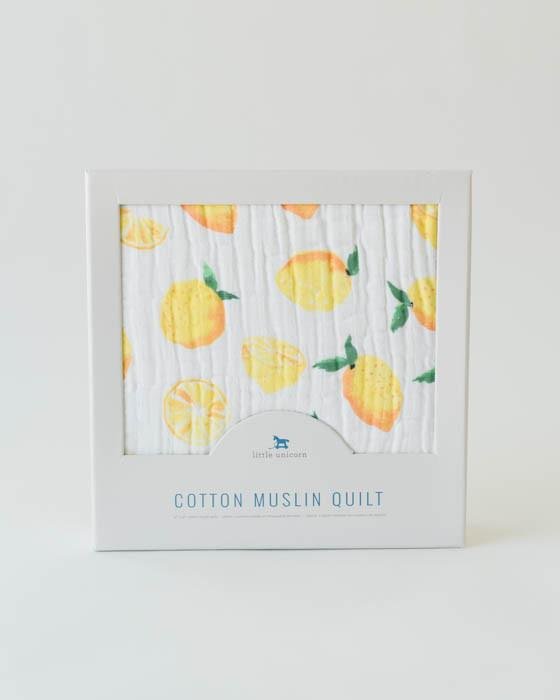Lemon Quilt - DOT.KIDZ