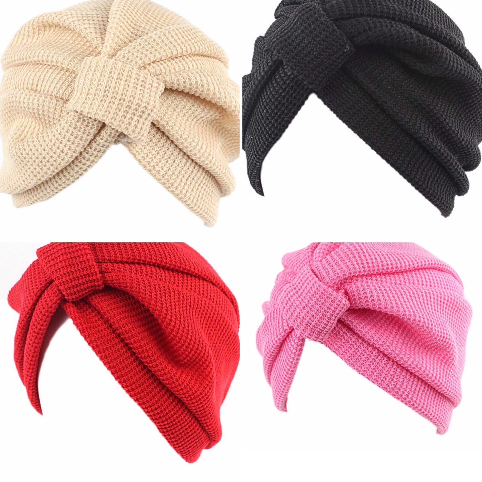Knit Turbans