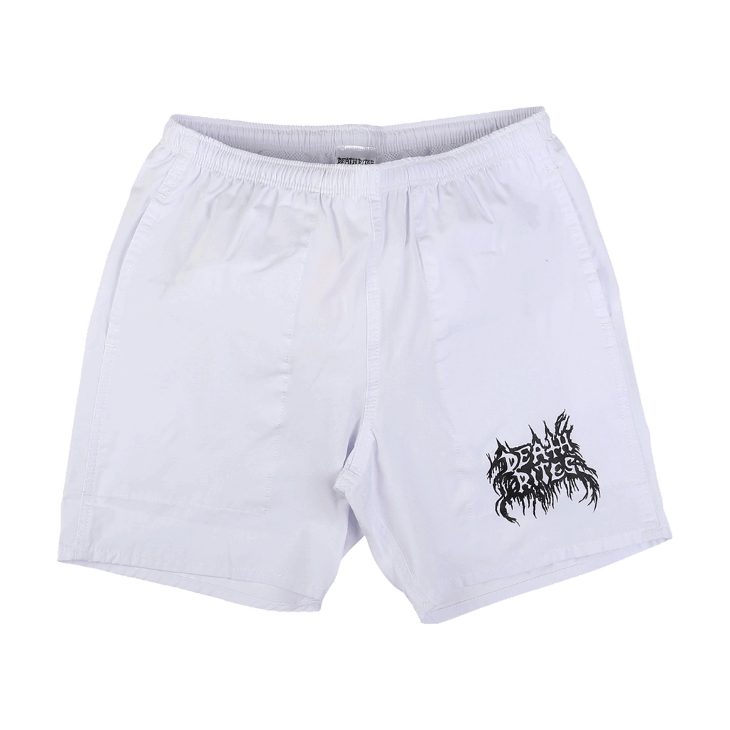 BM Bootleg Shorts White