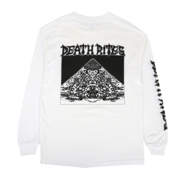 Curse Of The Pharaohs L/S T-Shirt White