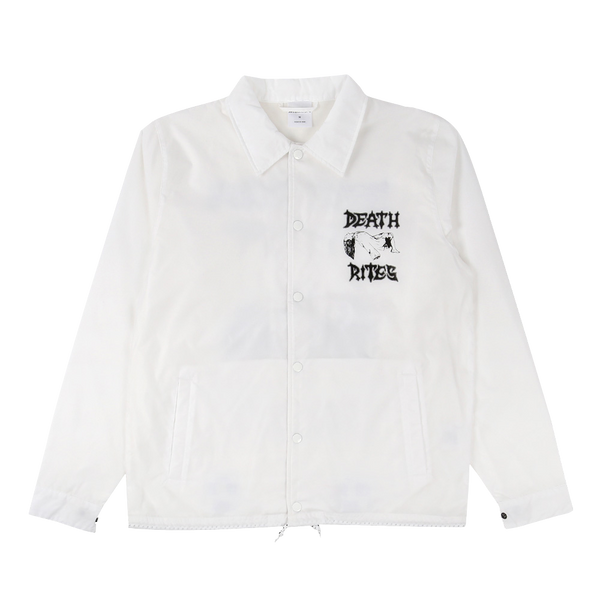 Altar of Sacrifice Coach Jacket White