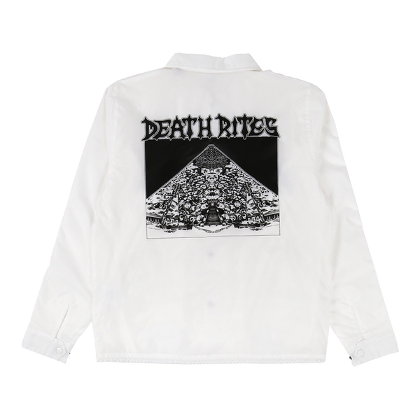Curse of the Pharoahs Coach Jacket White