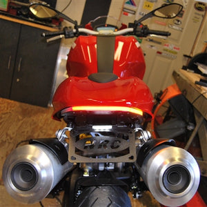 Ducati Monster 1100 Fender Eliminator Kit / LED Tail Light / LED Turn Signals.