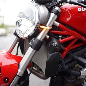 Ducati Monster 696 LED Front Turn Signals.