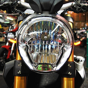 Ducati Monster 796 LED Front Turn Signals.