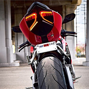 Ducati 899 Panigale Fender Eliminator Kit / LED Turn Signals.