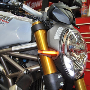 Ducati Monster 1200R Front LED Turn Signals | Ducati Monster 1200R LED Turn Signals