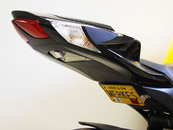 2011-2017 Suzuki GSXR750 Fender Eliminator | Limited Edition Fender Eliminator Kit | Tail Tidy | LED Licence Plate Light