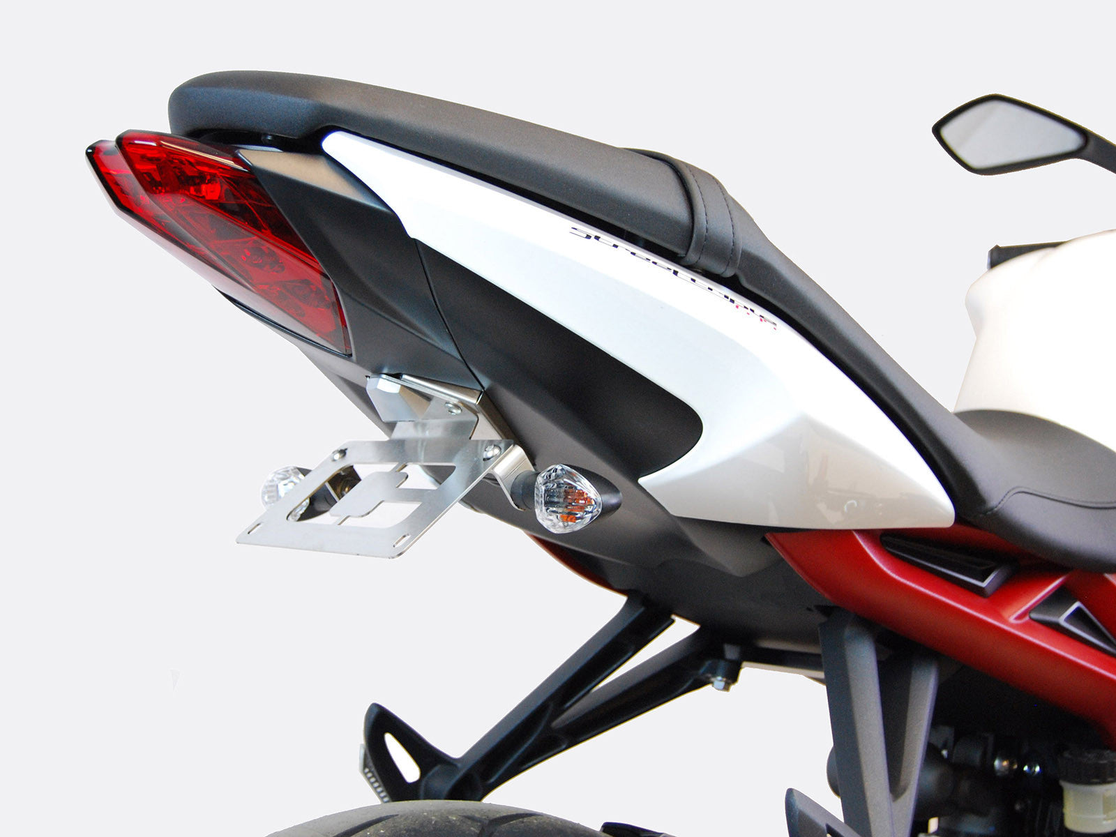 2013-2016 Triumph Street Triple Fender Eliminator Kit. 2013-2016 Triumph Street Triple Tail Tidy