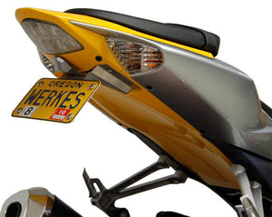 Competition Werkes Limited Edition Fender Eliminator Kit - Suzuki GSXR1000 with LED License Light 2007-2008