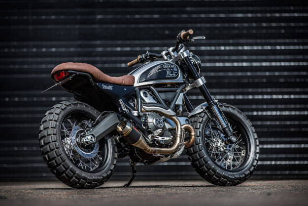 ducati scrambler urban enduro exhaustcompetition werkes