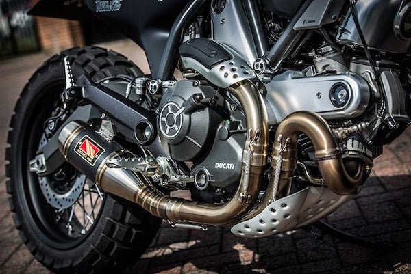 Harley Street 500 >> Ducati Scrambler Icon Exhaust by Competition Werkes ...