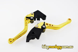 2006-2010 Suzuki GSXR750 Levers. GSXR750 Shorty Adjustable Racing Levers. GSX-R750 Levers