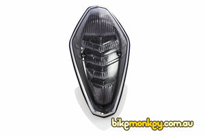 Honda VTX1300 Integrated Tail Light in Clear or Smoked Lens | LED Turn Signals | LED Tail Light