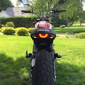 Ducati Scrambler Icon Fender Eliminator Kit / LED Turn Signals.