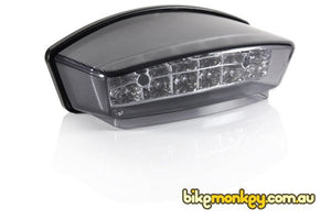 Copy of Ducati Monster 900ie Dark Integrated LED Tail Light. Ducati Monster 900ie Dark Tail Light with Integrated Indicators