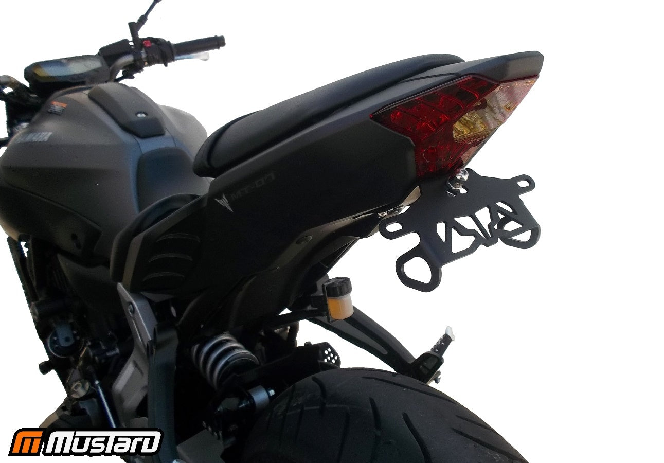 Yamaha FZ07 Fender Eliminator Kit | Yamaha FZ07 Tail Tidy | LED Plate Light