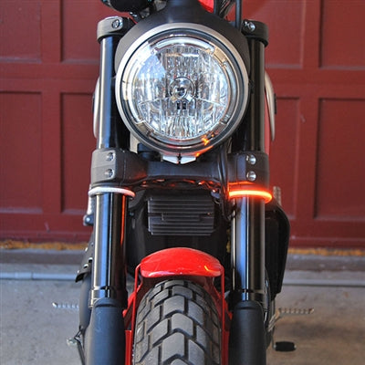 Triumph Scrambler LED Indicators | Triumph Scrambler Front LED Indicators