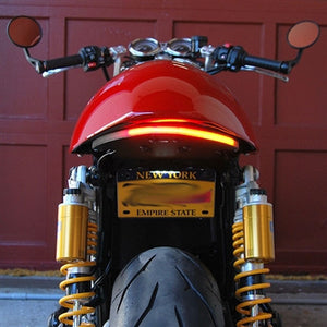 2016+ Triumph Thruxton Fender Eliminator Kit | Integrated Tail Light | LED Turn Signals | Tail Tidy