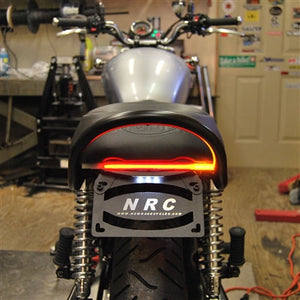 Triumph Bonneville Fender Eliminator Kit | LED Tail Light | LED Turn Signals | Belly Pan