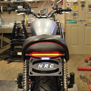 Triumph Scrambler Fender Eliminator Kit | LED Tail Light | LED Turn Signals | Belly Pan