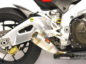 Aprilia RSV4 R GP Slip-On Exhaust by Competition Werkes. Aprilia RSV4 R Exhaust