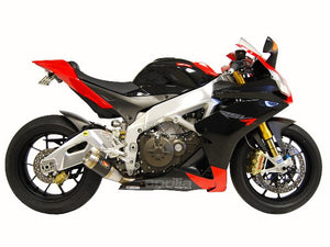Aprilia RSV4 Factory APRC GP Slip-On Exhaust by Competition Werkes. Aprilia RSV4 Factory APRC Exhaust
