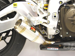 2009-2016 Aprilia RSV4 GP Slip-On Exhaust by Competition Werkes. Aprilia RSV4 Exhaust