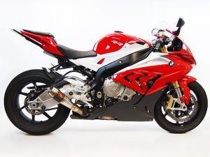 BMW S1000RR Slip-On Exhaust by Competition Werkes. BMW S1000RR Exhaust