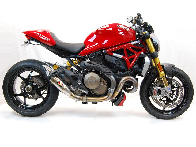 Ducati Monster 821 Exhaust by Competition Werkes. Ducati Monster 821 Exhaust