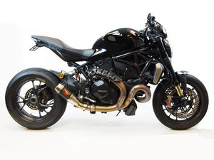 Ducati Monster 1200R Exhaust by Competition Werkes. Ducati Monster 1200R Exhaust