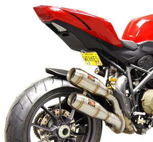Ducati Streetfighter Dual Slip-On Exhaust by Competition Werkes. Ducati Streetfighter Exhaust