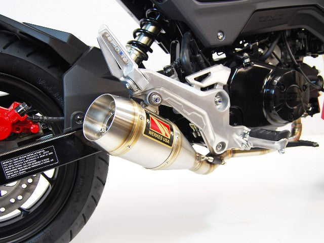 2017-2018 Honda Grom Full System Exhaust by Competition Werkes  Honda Grom  Full System Exhaust