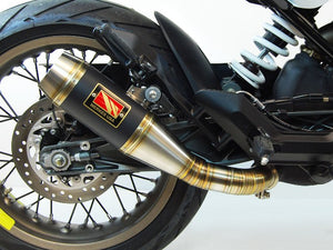 Husqvarna Vitpilen Exhaust by Competition Werkes. Husqvarna Vitpilen Slip-On Exhaust
