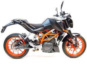 2013-2016 KTM RC390 Exhaust by Competition Werkes. KTM RC390 Exhaust