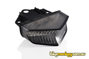 2008-2019 Yamaha WR250F Integrated Tail Light in Clear or Smoked Lens | LED Turn Signals | LED Tail Light