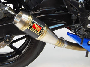 2016-2020 Suzuki GSXS750 Exhaust by Competition Werkes  | Suzuki GSXS750 Exhaust | Suzuki GSX-S750 Exhaust