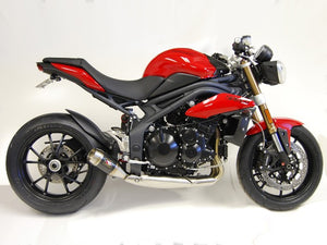 2011-2015 Triumph Speed Triple Exhaust by Competition Werkes. Triumph Speed Triple Exhaust