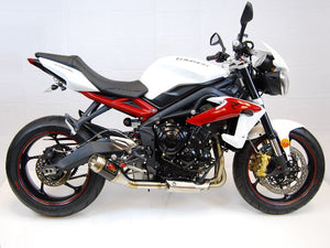 2013-2016 Triumph Street Triple Exhaust by Competition Werkes. Triumph Street Triple Exhaust